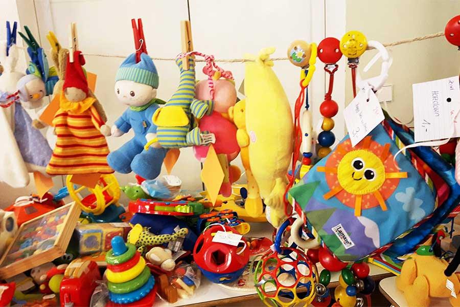 Flohmarkt Spielzeug