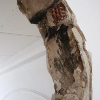 Überraschende Entdeckung für den Denkmalschutz: Überreste einer schwarzen Küche im Storchenhaus