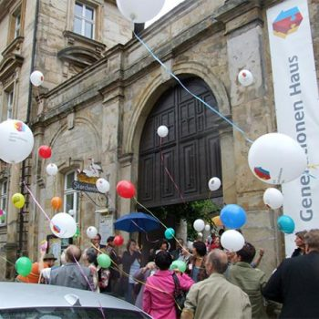 Eröffnung des MGH Bayreuth mit vielen Festgästen