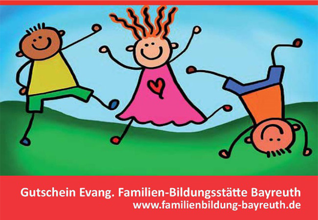 Familienbildungsstätte – Geschenkgutschein