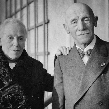 Rosette Weinberger (1865 – 1943) und Josef Weinberger (1861 – 1942), ehemalige jüdische Besitzer des Storchenhauses
