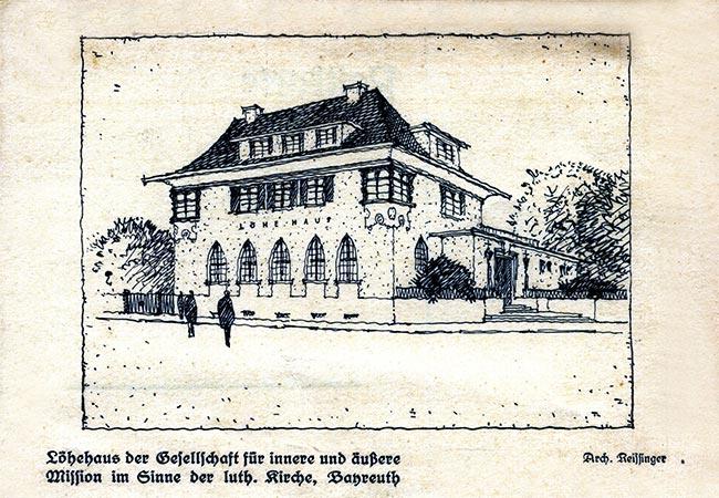 Planung des Löhehauses in Bayreuth, Biemarckstr. 3, Bayreuth
