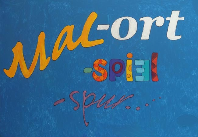 Angelika Schneider – Malort-Spiel-Spur