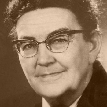 Maria Hollwich (1904 – 1968), die Gründerin der Bayreuther Mütterschule