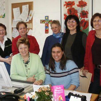 Das hauptamtliche Team der Familien-Bildungsstätte Bayreuth