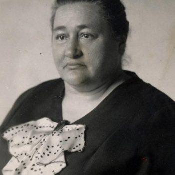 Ottilie Puchta, die Ehefrau von Friedrich Puchta, Bewohnerin des Storchenhauses