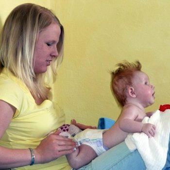 Babymassage im Löhehaus