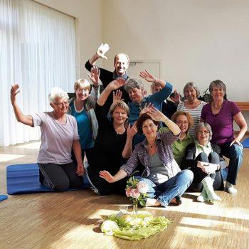 Mein Rücken schmerzt – Gymnastik im Gemeindezentrum Friedenskirche Foto: Pitroff