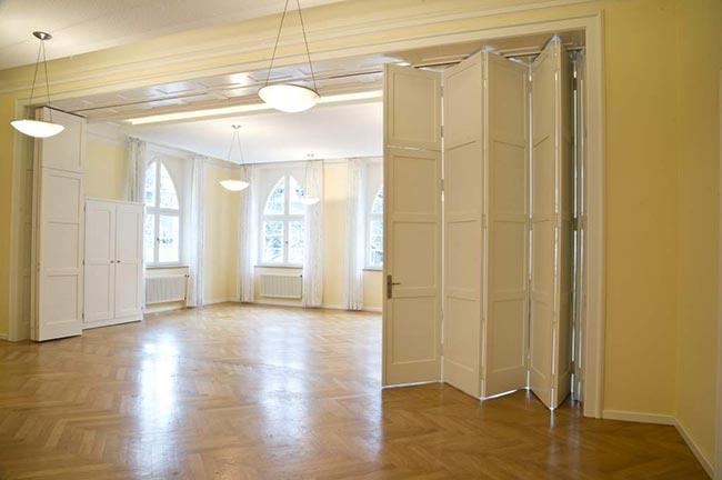 Der große Saal im Löhehaus, EG; Foto: Becher und Partner