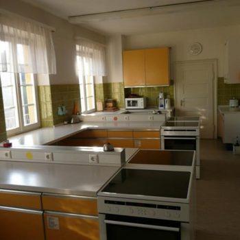 Die Lehrküche vor dem Umbau des Löhehauses