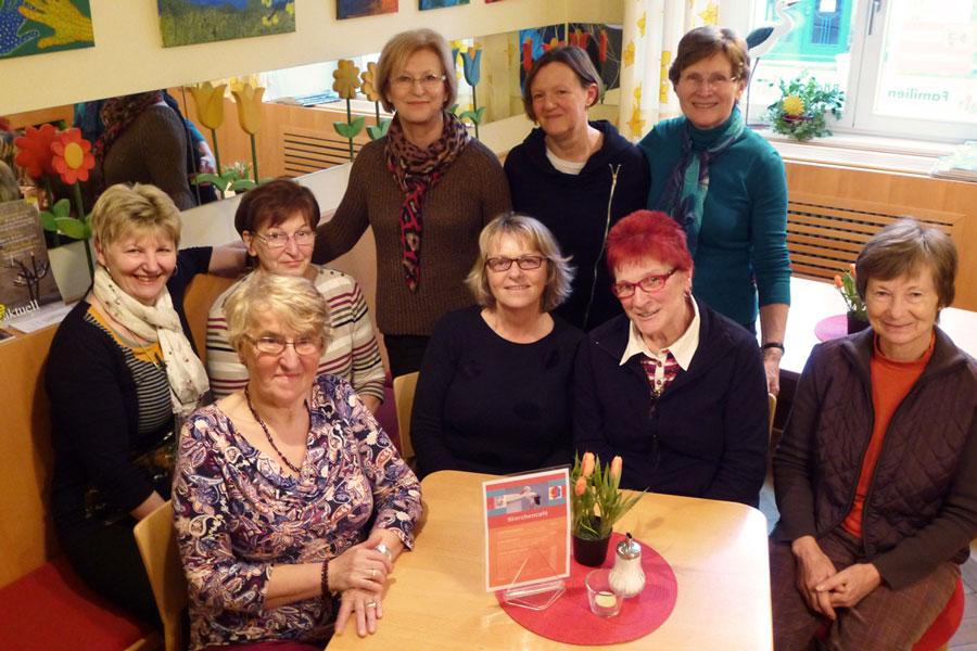 Ehrenamtliches Team vom Storchencafé