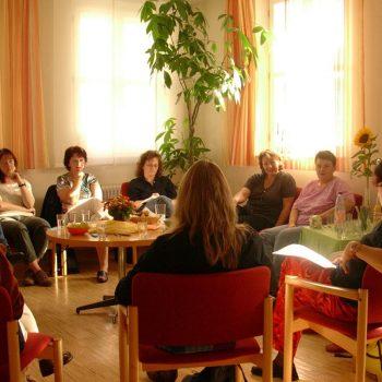 Gesprächsrunde im Treffpunkt St. Georgen 1
