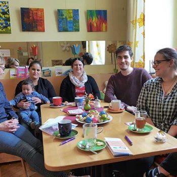 Interkultureller Sprachtreff und Lerncafé im Storchencafé