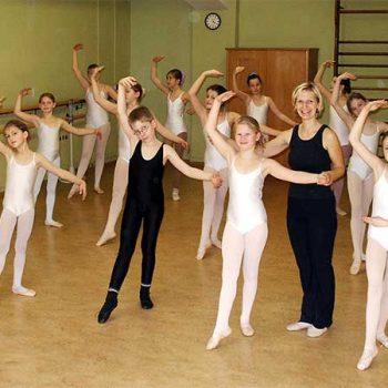 Die Ballettinis unter Leitung von Andrea Hilger