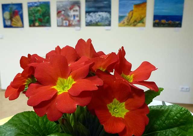 Ausstellungseröffnung in Destuben
