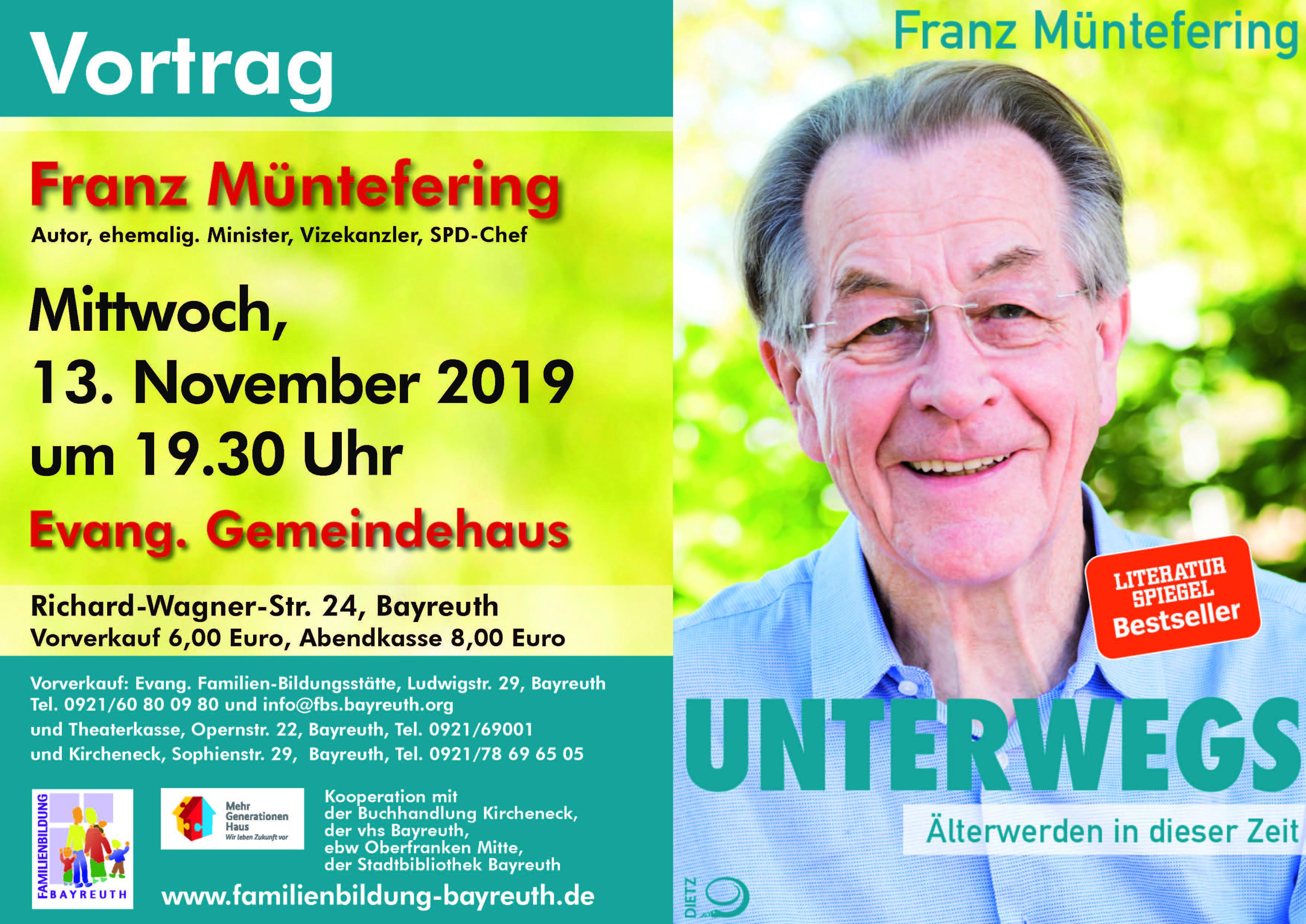 Vortrag Müntefering in Bayreuth